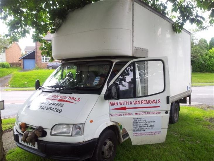 Man With A Van Removals | Removals In Redditch | Storage In Redditch